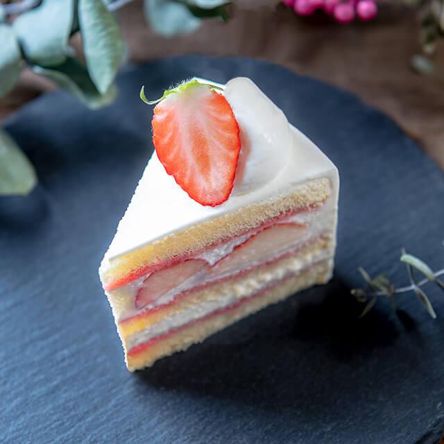 ベリースイーツの苺のショートケーキ